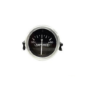 Amperímetro 52mm 30 Amperes 12/24v Preto (30321) - 12m - Peç