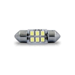 Led Torpedo 41mm 24v - 04 Leds - Branco (ap275) - Autopoli -
