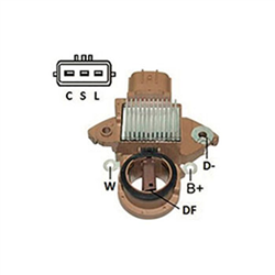 Regulador Alternador March Frontier Sentra (ik5671) - Ikro -