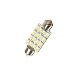 Led Torpedo 36mm 12v 16 Led - Branco (nl163612) - Cae1 - Peç