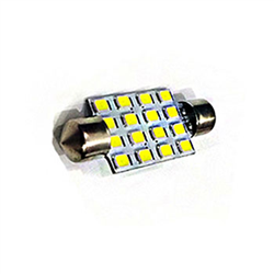Led Torpedo 41mm - Branco - 12v 16 Leds (nl164212) - Cae1 -