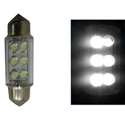 Led Torpedo 36mm 24v - 06 Leds - Branco (nl63124) - Cae1 - P
