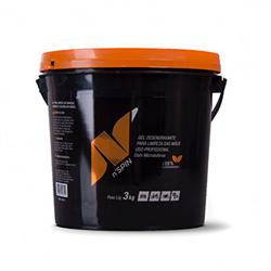 Gel Desengraxante - Biodegradável Com Microesferas N'spin -