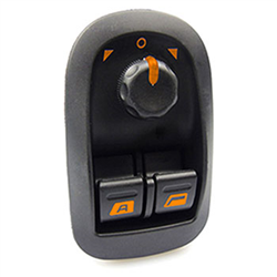Interruptor Vidro Elétrico Peugeot 206 - Com Controle Retrov