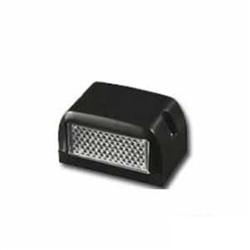 Lanterna de Placa Adaptave Preta/cristal (s1060) - Sku: P283