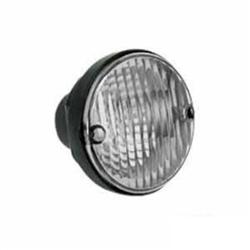 Lanterna Traseira Redonda 95mm - Cristal (s1292cr) - Sinal S