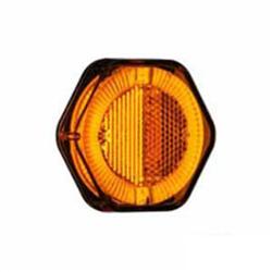 Lanterna Lateral - Com Led Bivolt Terminais - Amarelo (turn) (s2048am) - Sku: P41816