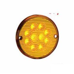 Lanterna Traseira - 10 Leds 24v - Amarelo (s207124am) - Sku: