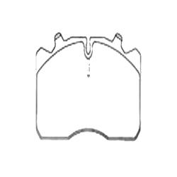 Pastilha Freio (1296) - Syl - Jogo - mbb Sprinter de 2001
