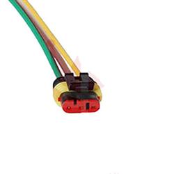 Conector Elétrico 03 Vias (tc1014) - Tc - Peça - gm S10 d