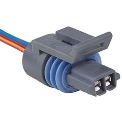 Conector Elétrico 02 Vias Interruptor Temperatura Ar (tc1020