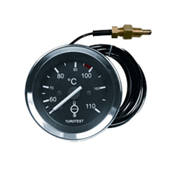 Relógio Mercúrio Temperatura Água - 60mm -cabo 4,00m (tur302