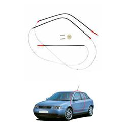 Kit Reparo Máquina Vidro Elétrico Audi A3 - 4 Portas - Porta
