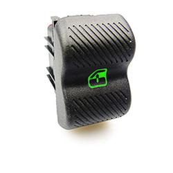 Interruptor Vidro Elétrico Gol - Painel (vw1001) - Multiqual