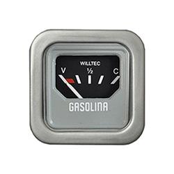 Relógio Combustível Fusca - Aro Cromado (w23901c) - Willtec