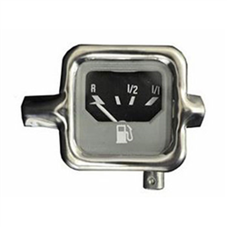 Relógio Combustível Fusca - Aro Cromado (w23912) - Sku: 3993