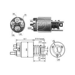 Automático Motor de Partida Bmw - Partida Sistema Magneti Ma