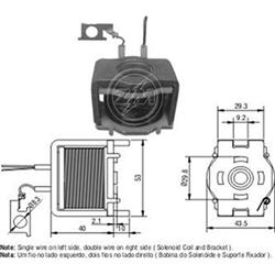 Bobina Automático Motor de Partida Nippodenso (zm421) - Zm -