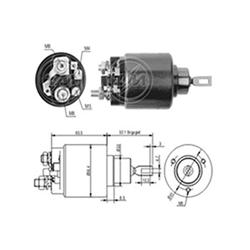 Automático Motor de Partida Gol Fusca Santana (zm571) - Sku: