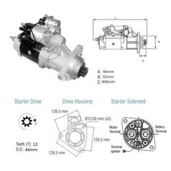 Motor Partida Vw Caminhões - Zm - Peça - vw - Caminhões -
