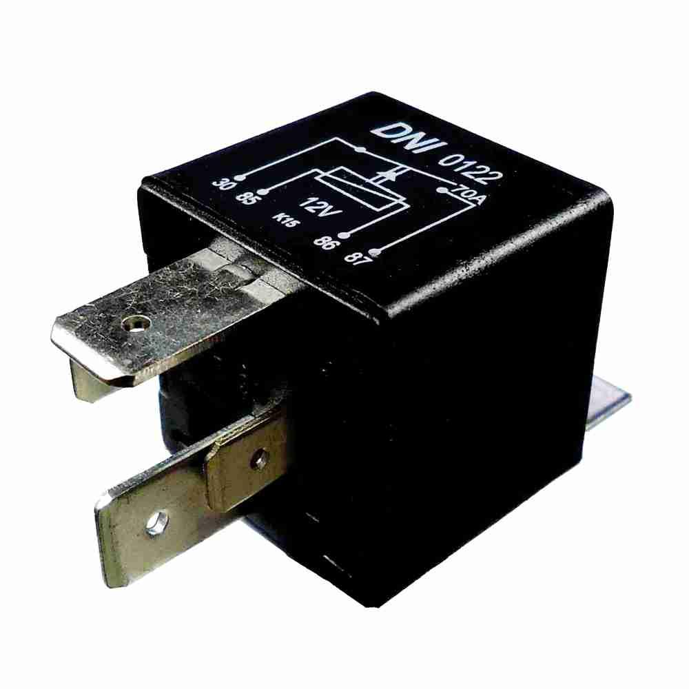 Relé Auxiliar 12V 04 Terminais 70 Amperes (RA1712S) - ARPE -