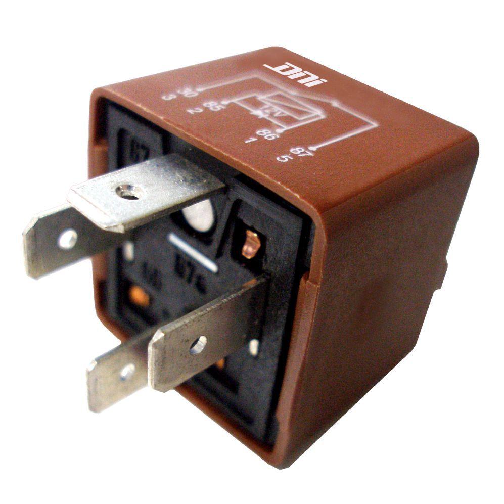 Relé de Ar Condicionado 12V 04 Terminais 60 Amperes Diodo (D