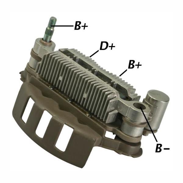 Placa Diodo ESCORT MAZDA SEPHIA - 085 Amperes (GA1270) - GAU