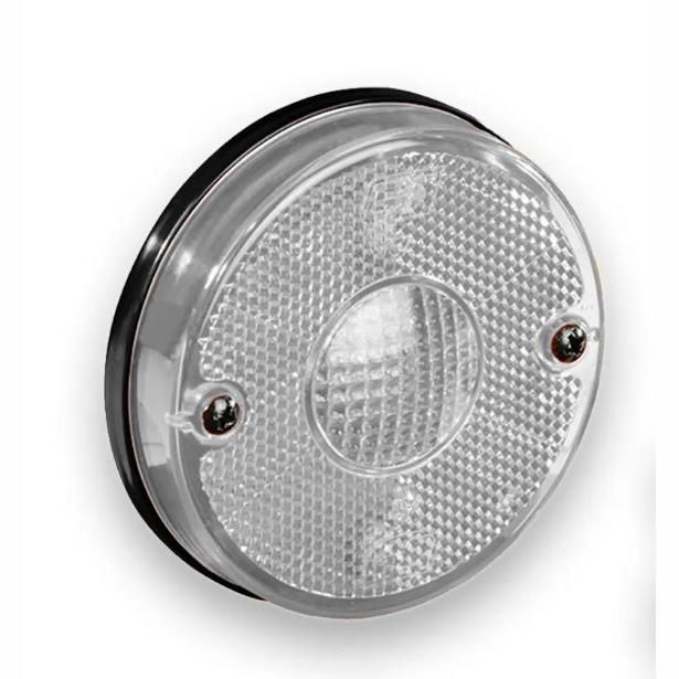 Lanterna Lateral - Com Suporte Cristal (GF012710CR) - GF - P