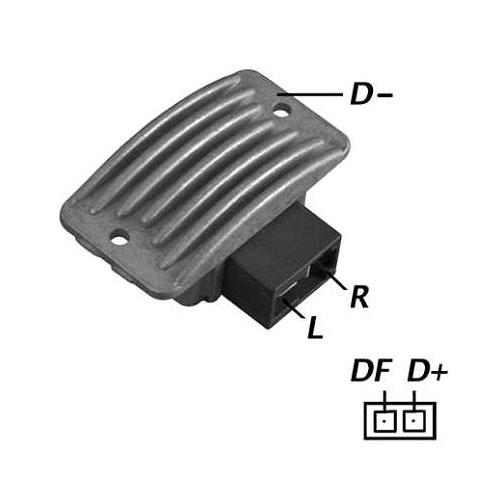 Regulador Alternador KIA 3500 - 24V (IK5127) - IKRO - PEÇA -