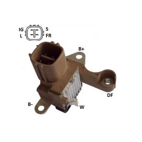 Regulador Alternador HILUX CRV (IK5148) - IKRO - PEÇA - T