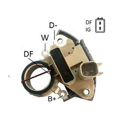 Regulador Alternador FREEMONT - Capacitor (IK5320) - IKRO -