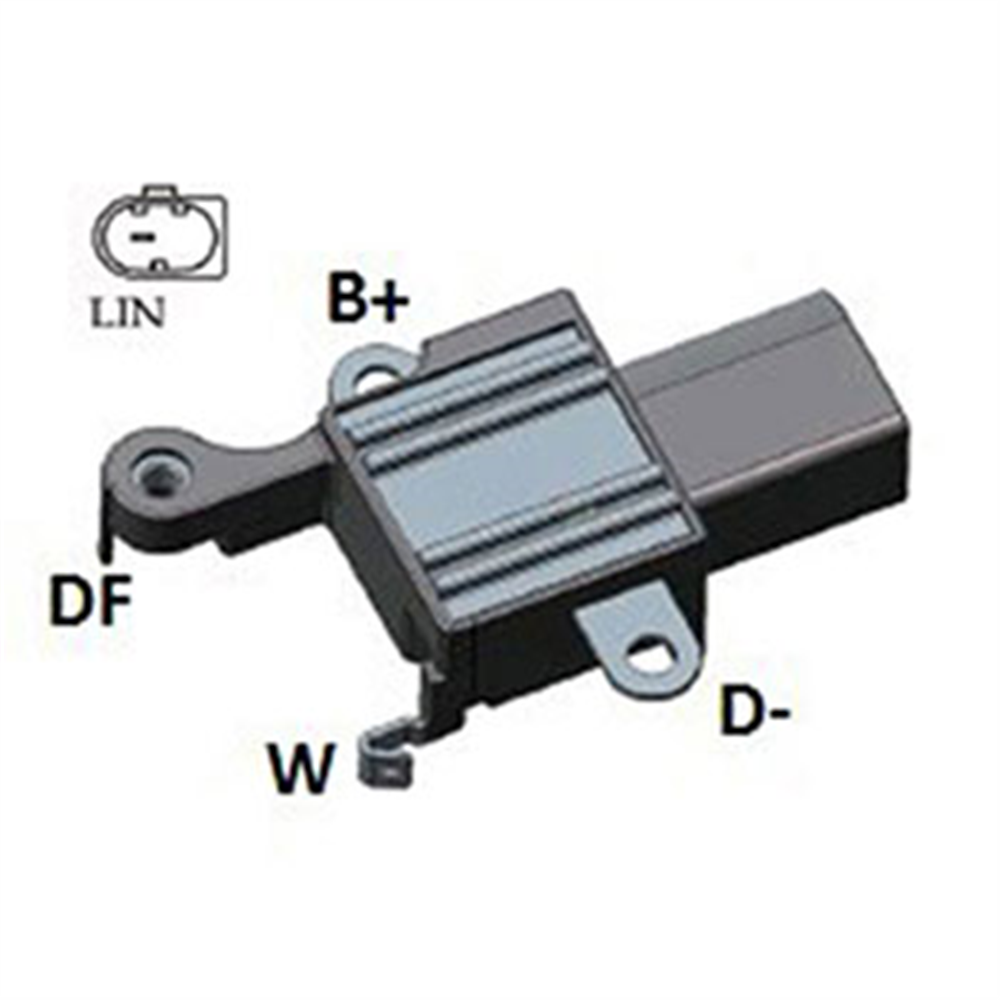Regulador Alternador Bmw Z4 X1 X3 (ik5533) - Ikro - Peça -