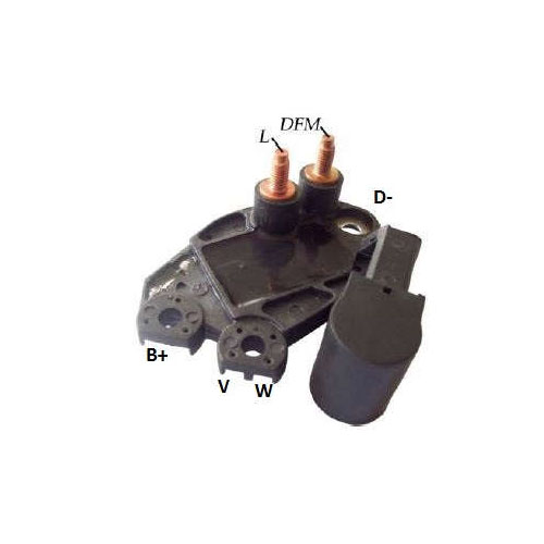 Regulador Alternador PEUGEOT 206 PICASSO C3 (IK5939) - IKRO