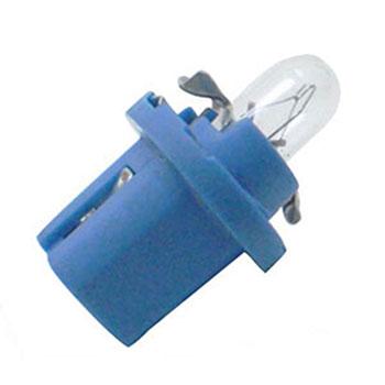 Lâmpada Soquete Painel 12V - Soquete Azul Claro (OS2721MFX)