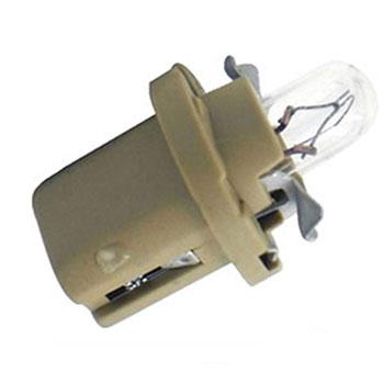 Lâmpada Soquete Painel 12V - Soquete Bege (OS2452MFX6) - OSR