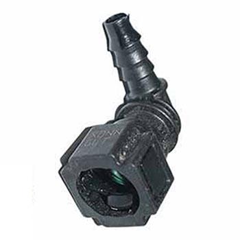 Conector Mangueira Injeção - Quick 90º (QCW1009) - CAE1 - PE