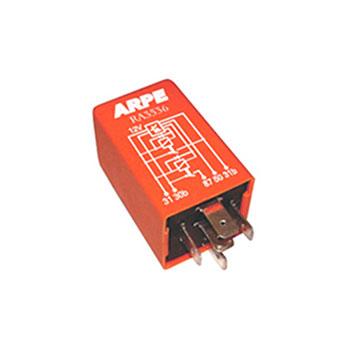 Relé Ventilação Radiador 12V - 05 Terminais - 040 Amperes (R