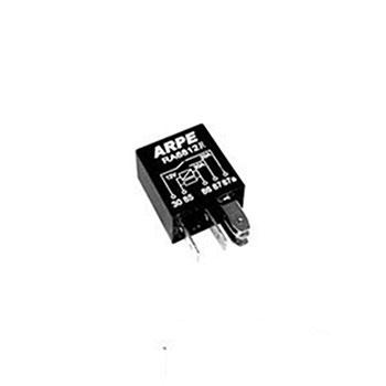Relé Auxiliar Mini 12V 05 Terminais 30 Amperes Resistor (RA6