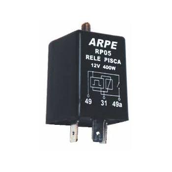 Relé Pisca 12V 3 Terminais 40MM (RP05P) - ARPE - PEÇA - G