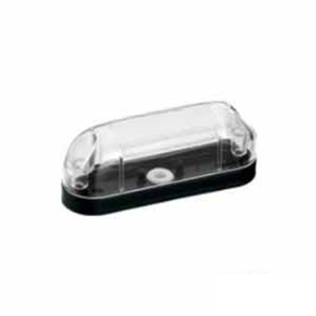 Lanterna Delimitadora - Com Lâmpada 69 - Cristal (S1064PSCR)