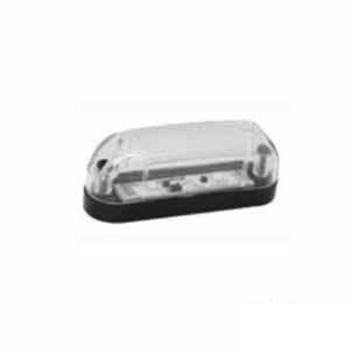 Lanterna Delimitadora - Com LED Bivolt - Cristal (S2016CR) -