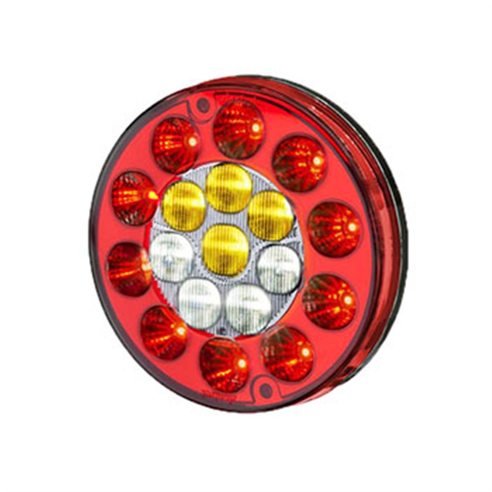 Lanterna Multi Função Com Led 12v (s203812) - Sinal Sul - Peça - Sku: Codigo: S203812 - P12768 Marca: SINAL SUL