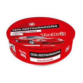 Cera Restauradora - 200g (TEC050000) - TECBRIL - PEÇA - SKU: