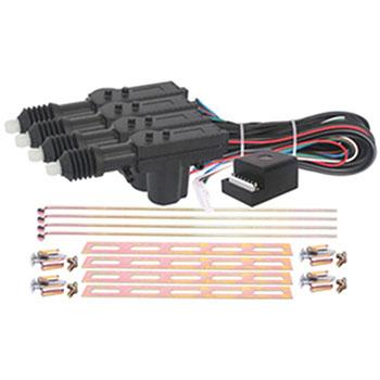 Kit Trava Elétrica 04 PORTAS - Universal (TP0402) - VETOR -