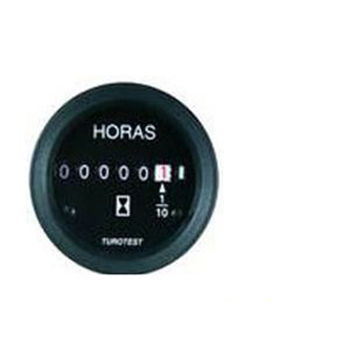 Horimetro 52mm - 12/24V - Com Led Independente (TUR300328) -