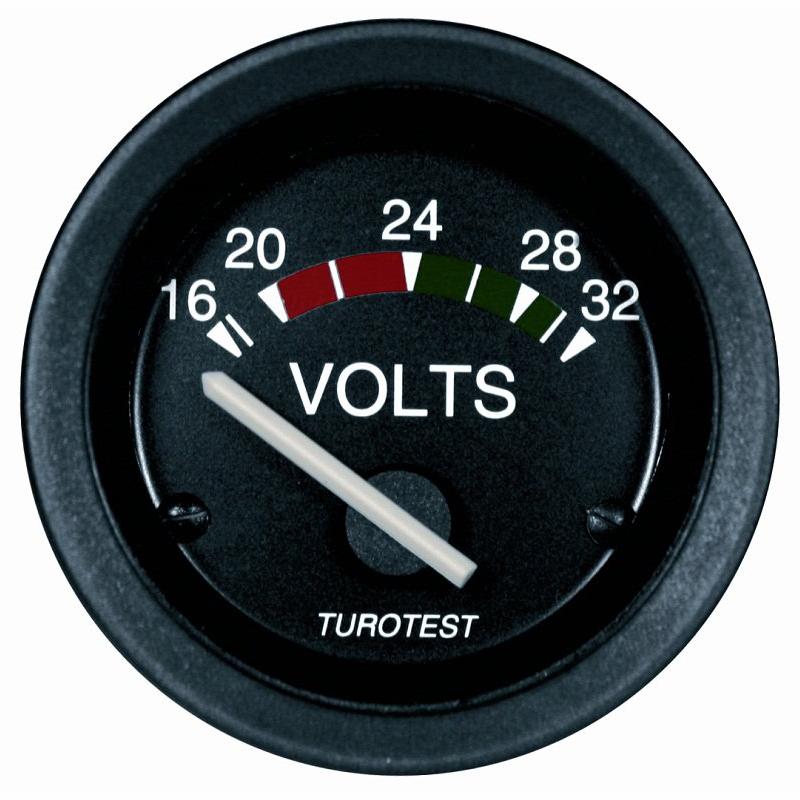 Voltímetro - 52mm (TUR300460) - TUROTEST - PEÇA - SKU: P3090