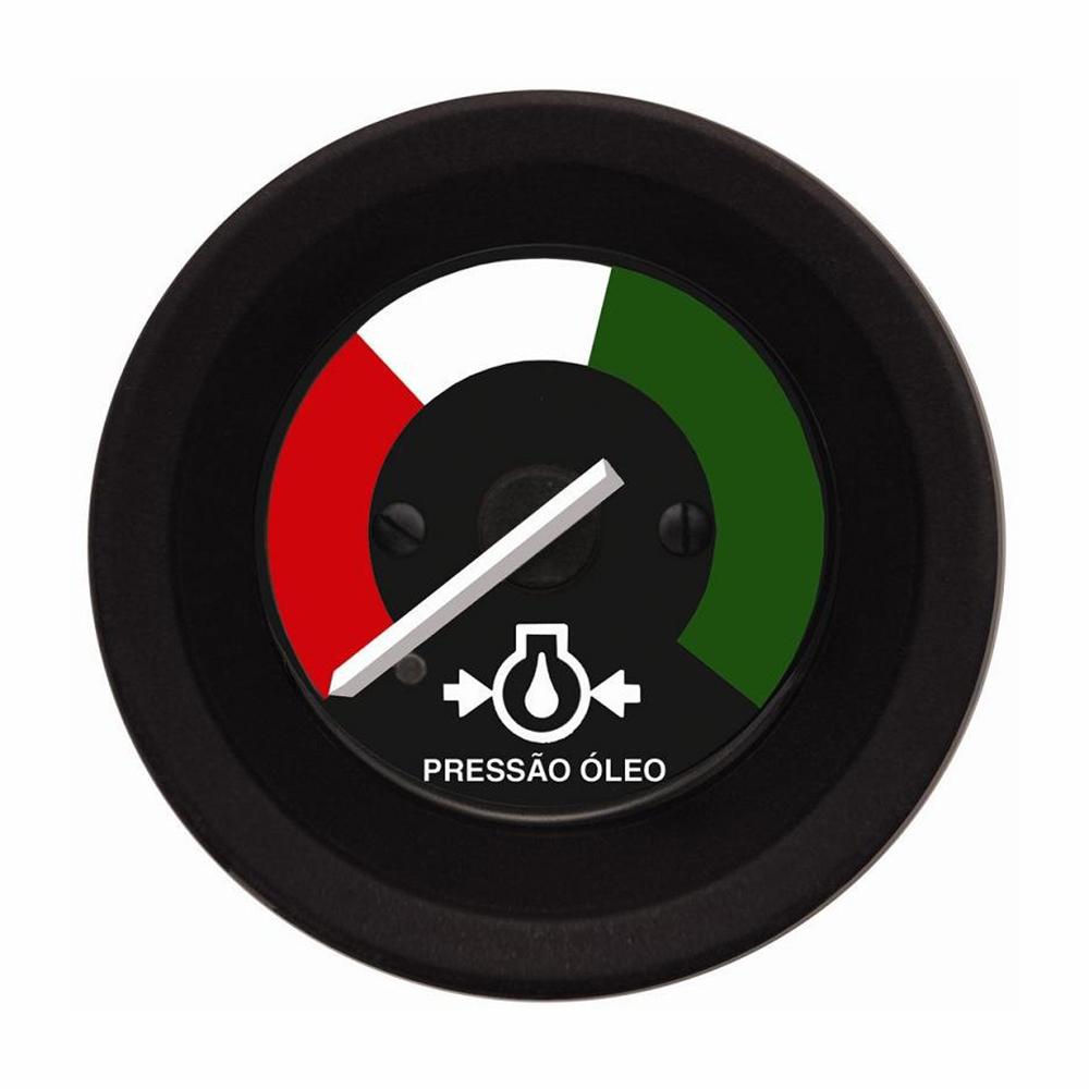 Manometro Relógio Pressão Óleo 52mm (TUR300484) - TUROTEST -
