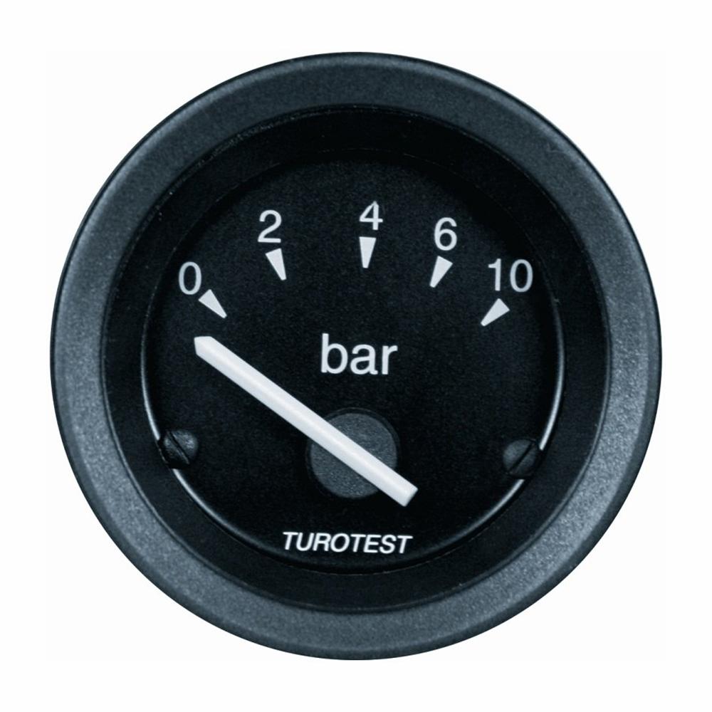Relógio Pressão Óleo - 52mm 24V (TUR300602) - TUROTEST - PEÇ