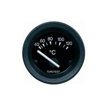 Relógio Temperatura Água - 52mm 24V (TUR300802) - TUROTEST -