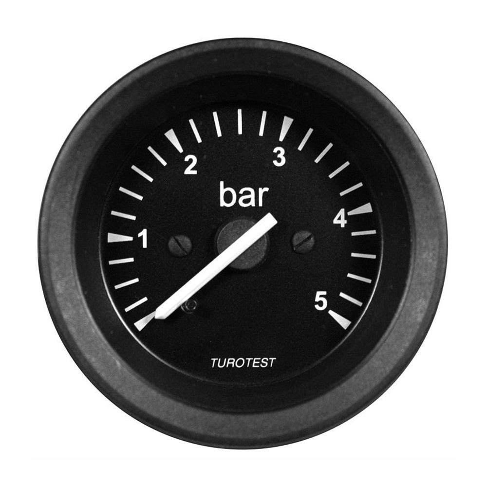 Manometro Relógio Pressão Do Óleo 60mm (TUR302285) - TUROTES